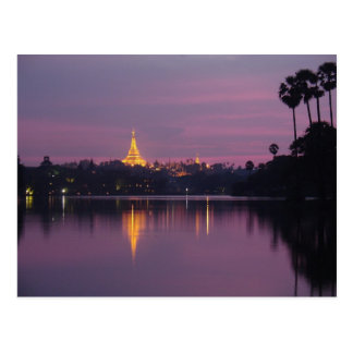 Carte Postale shwedagon