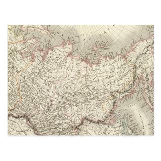 Carte Postale Siberie, d'Asie de Russie - la Russie et la
