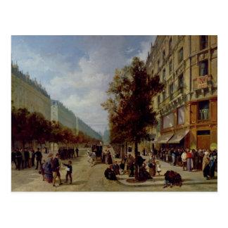 Carte Postale Siège de Paris