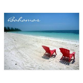 Carte Postale sièges grands des Bahamas