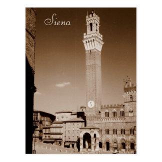Carte Postale Sienne