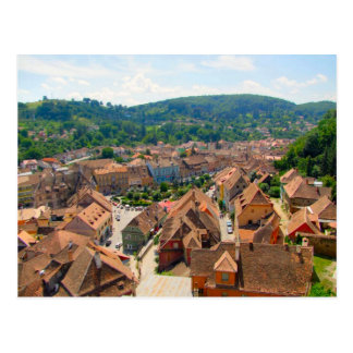 Carte Postale Sighisoara, toits de la ville