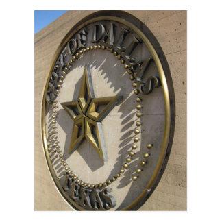 Carte Postale signe de Dallas