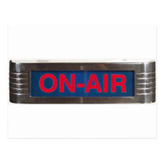 Carte Postale Signe de Sur-Air ou radiodiffusion antique de