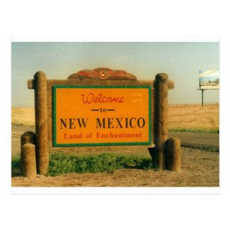Carte Postale Signe du Nouveau Mexique