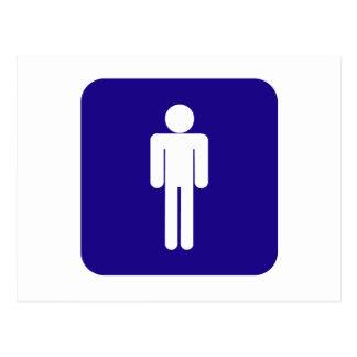 Carte Postale Signe masculin