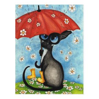 Carte Postale S'il pleuvait chaque fois I considéré vous par