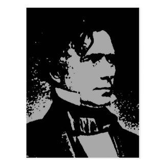 Carte Postale Silhouette de Franklin Pierce