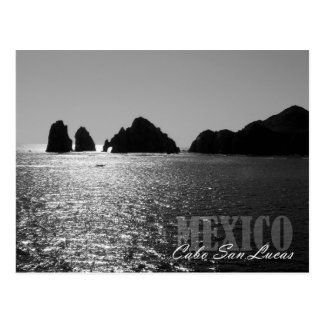 Carte Postale Silhouette d'El Arco de Cabo San Lucas