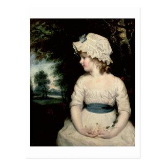 Carte Postale Simplicité - un portrait de Mlle Theophilia