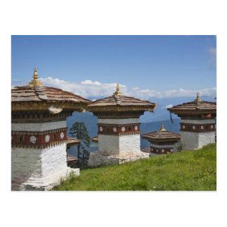 Carte Postale Sindokha Dzong, passage 2 de La de Dochu