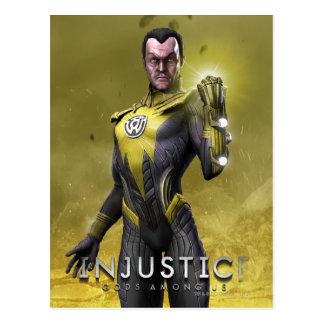 Carte Postale Sinestro