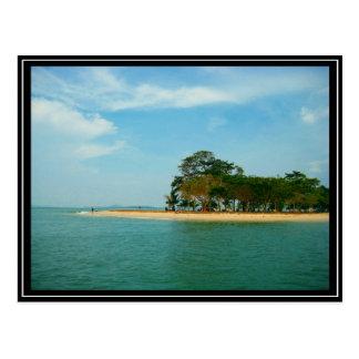 Carte Postale Singapour - Pulau Ubin