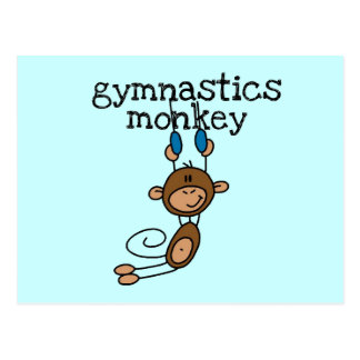 Carte Postale Singe de gymnastique