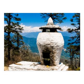 Carte Postale Site bouddhiste de culte