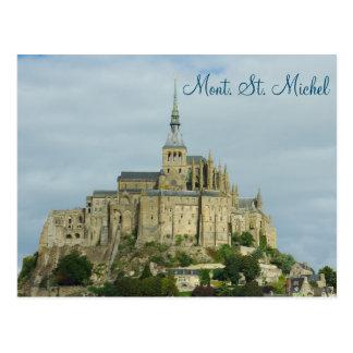 Carte Postale Site d'héritage de l'UNESCO de Mont Sint Michel,