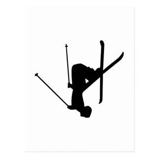 Carte Postale Ski