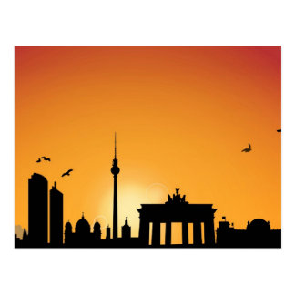 Carte postale Skyline Berlin