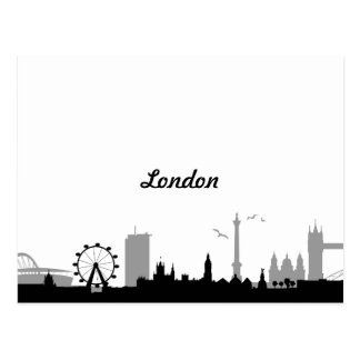 Carte Postale Skyline Londres