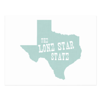 Carte Postale Slogan de devise d'état du Texas