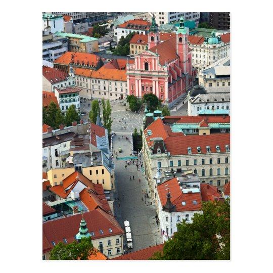 Carte Postale Slovenia - Ljubljana - Sky View