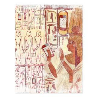 Carte Postale Smartphones d'Egypte antique