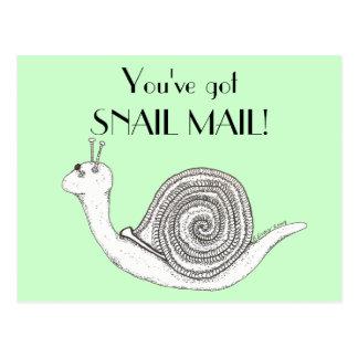 Carte Postale Snail mail