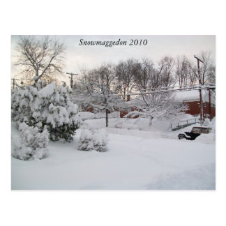 Carte Postale Snowmaggedon 2010