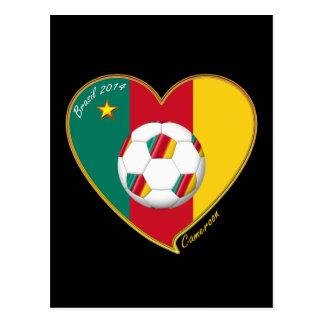 Carte Postale Soccer «CAMEROON» FOOTBALL Team, Football du