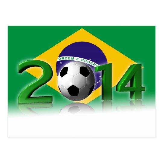 Carte Postale Soccer World Cup 2014