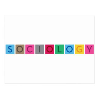 Carte Postale Sociologie