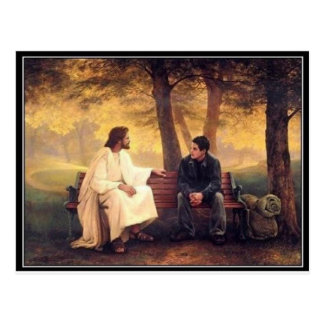 Carte Postale Soins de Jésus pour moi