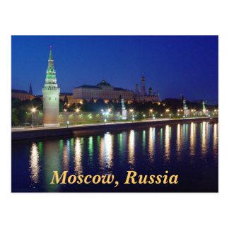 Carte Postale Soirée Kremlin