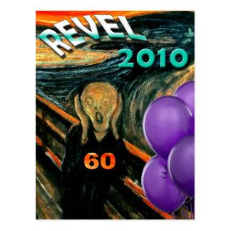 Carte Postale Soixantième anniversaire drôle
