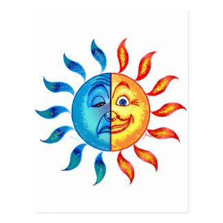 Carte Postale Solaire polaire de Bi