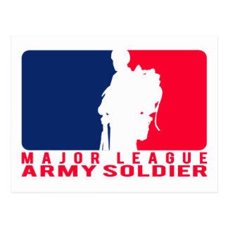 Carte Postale Soldat d'armée de ligue