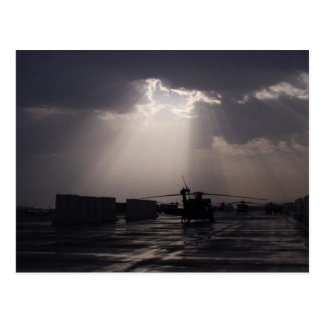 Carte Postale Soleil au-dessus de Bagdad