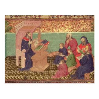 Carte Postale Solomon dicte les proverbes