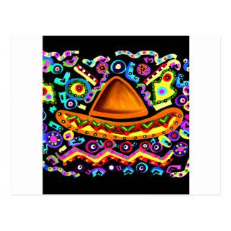Carte Postale Sombrero mexicain