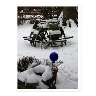 Carte Postale Sommeil d'hiver