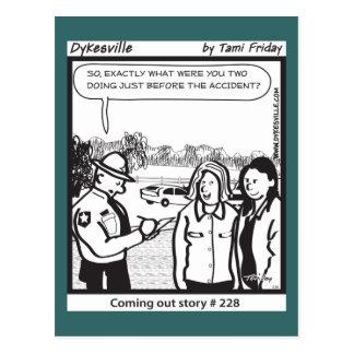 Carte Postale Sortir sur le Hwy