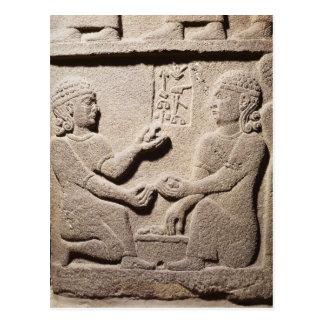 Carte Postale Soulagement dépeignant le fils du Roi Araras