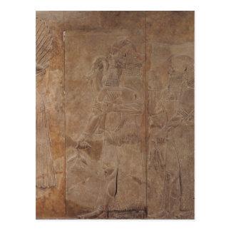 Carte Postale Soulagement dépeignant Sargon II