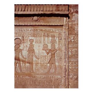 Carte Postale Soulagement dépeignant un pharaon