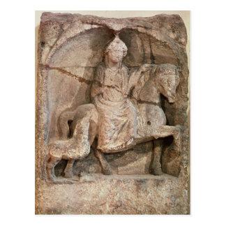 Carte Postale Soulagement représentant Epona, déesse gauloise