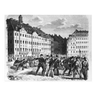 Carte Postale Soulèvement à Dresde