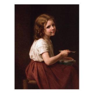 Carte Postale Soupe à William-Adolphe Bouguereau (1825-1905) -