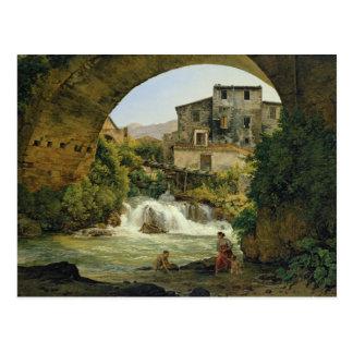 Carte Postale Sous la voûte d'un pont en Italie, 1822