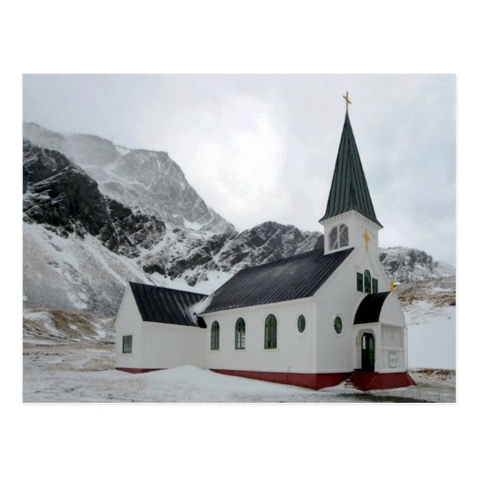 Carte Postale South Georgia Island - Grytviken - Whaler's church