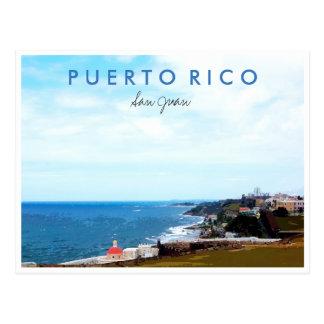 Carte Postale Souvenir de photo de voyage de San Juan Porto Rico